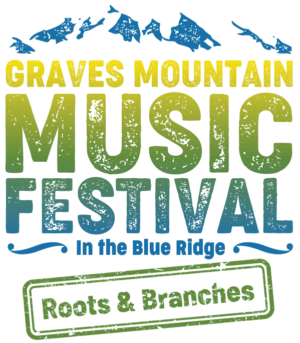 Graves Mountain Music Festival Logo Blue Ridge Roots and Branches
