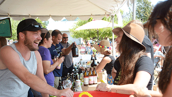 Cider and Beer tastings lecture at Graves Mountain Music Festival