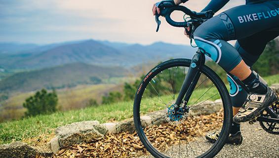 Road Bike Trek at Graves Mountain Music Festival