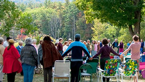 Celebration thanks at Graves Mountain Music Festival