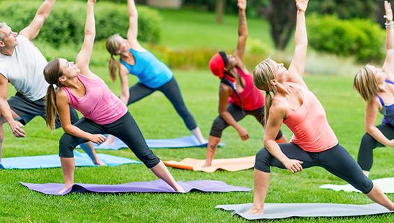 Yoga at Graves Mountain Music Festival