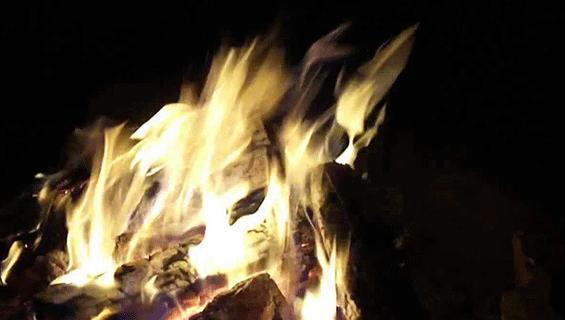 Campfire at Bluegrass Jams - Graves Mountain Farm